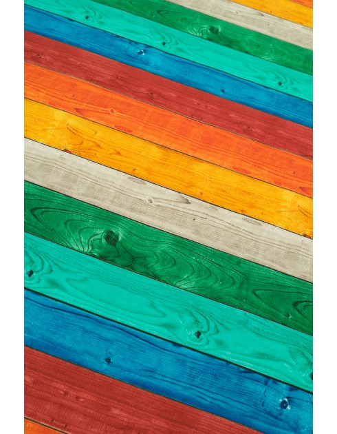 Colorful timber