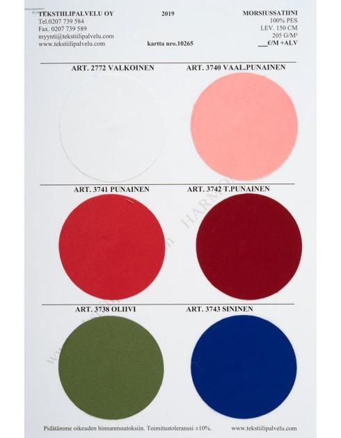 Morsiussatiini (9 väriä)